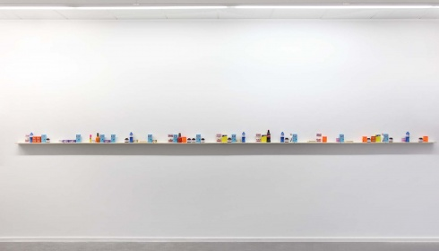 Benjamin Verdonck exposeert zijn werk abc bij Zinneke