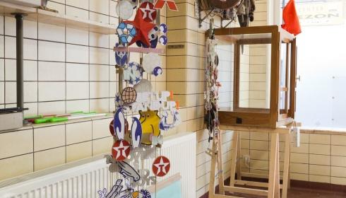 Open atelier bij Benjamin Verdonck